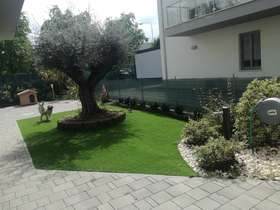 Synthetic grass 40 mm with ULIVO RESTYLING garden